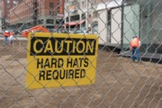 Hard hats required